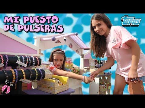 Arantxa City 🏡 Mi puesto de pulseras en mi ciudad