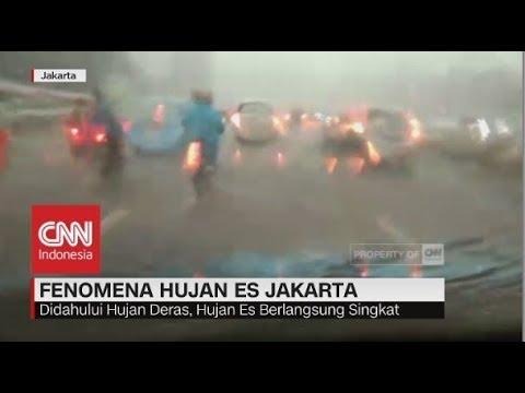 Apa Penyebab Hujan Es di Jakarta? Ini kata BMKG