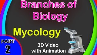 Branches of Biology | Main Branches Of Biology | 9th Class Biology | Class 9 ICSE Biology