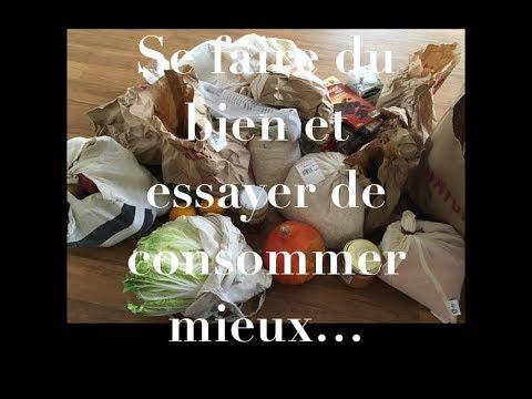 Qu'acheter au magasin bio?-  Des courses avec moins de déchets - Alimentation simple et végétale