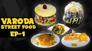 Vadodara Street Food  Flaming Biryani At Night Market  Idli Burger  Hmm