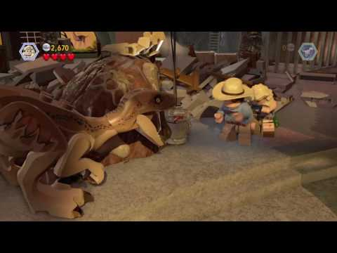 Jurassic World The Lego Game T Rex Vs Raptor