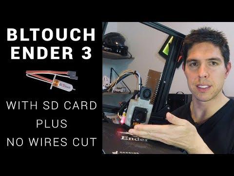 Смотрите сегодня GEEETECH A20M 3D Touch sensor install and