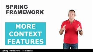 Больше возможностей контекста - 8 - The Basics of Spring Framework