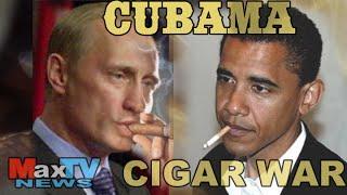 CUBAMA cigar war - Max Kolonko Tells it like it is