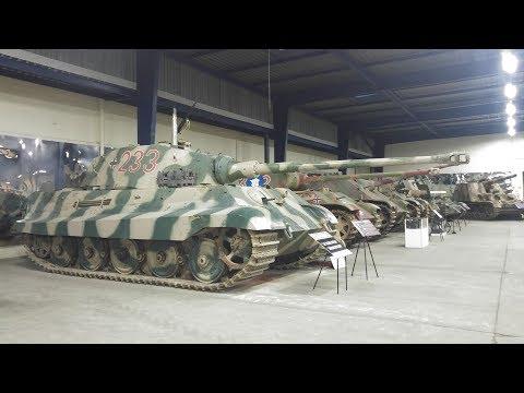 Tour of Musée des Blindés - The French tank museum