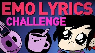 Emo Lyrics Drawing Challenge