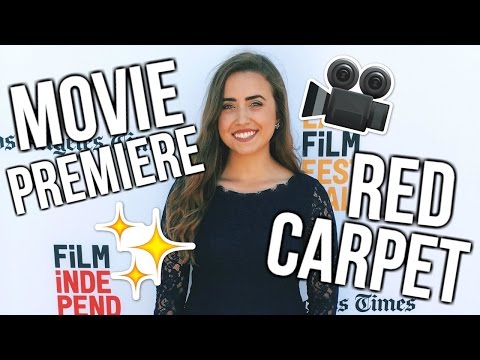 LA FILM FESTIVAL RED CARPET   First Day in LA