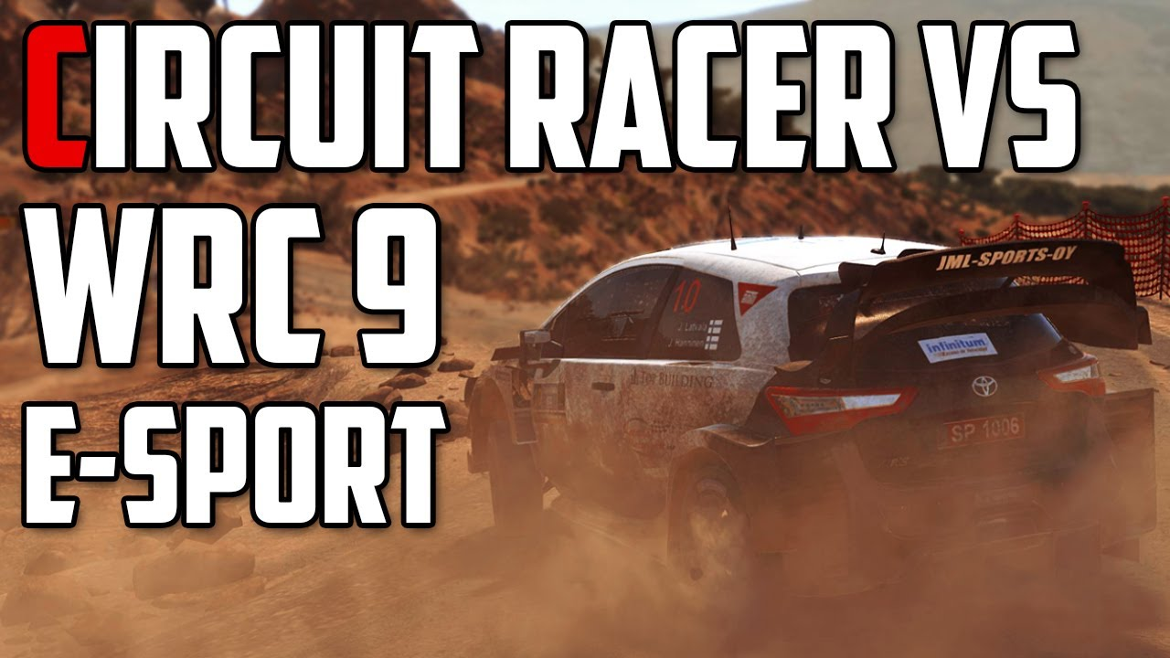 Track racer vs eSports Rally Pro WRC 9