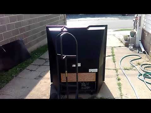 Fresnel lens solar weed killer project (part 1)