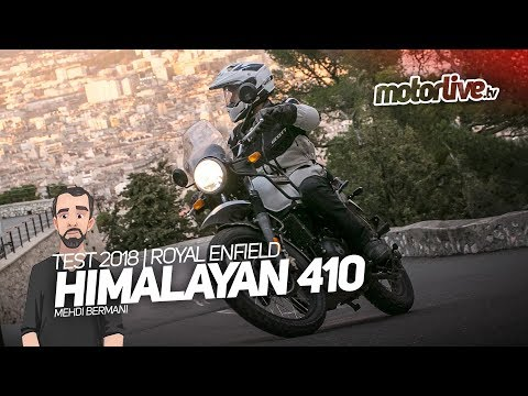 ROYAL ENFIELD HIMALAYAN 410 | TEST 2018