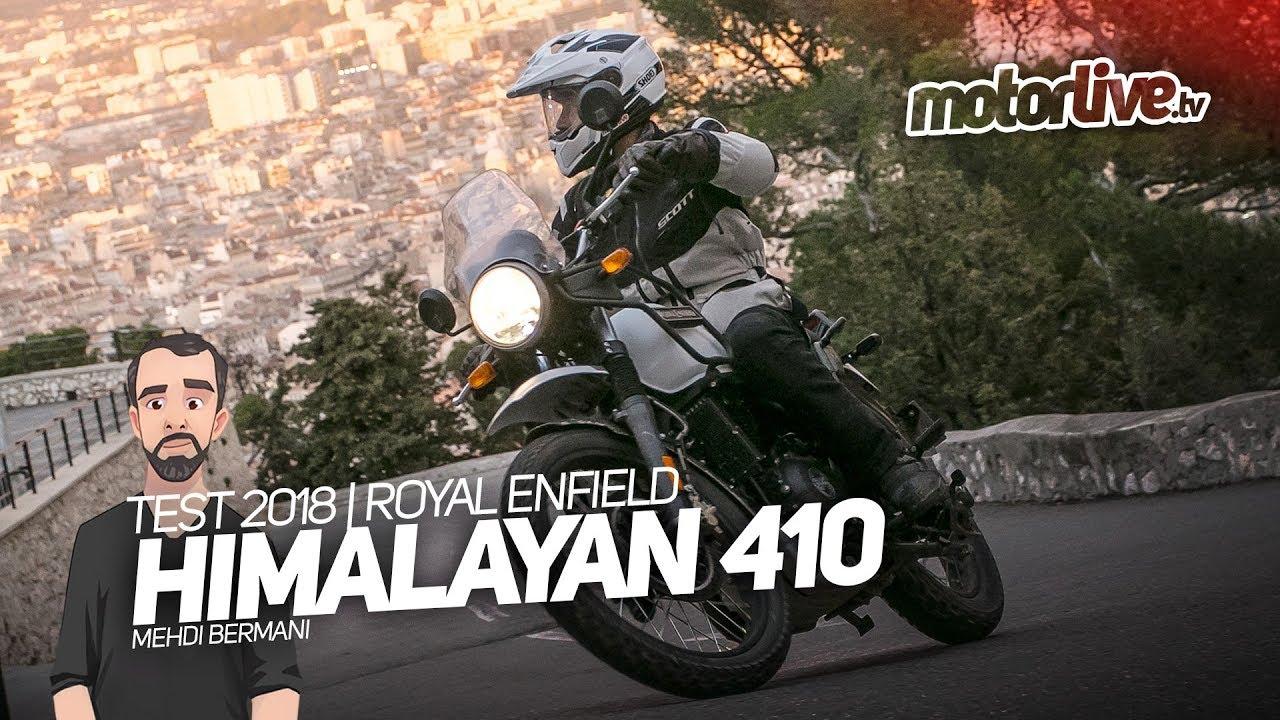 Royal Enfield Himalayan 410 Test 2018 Youtube