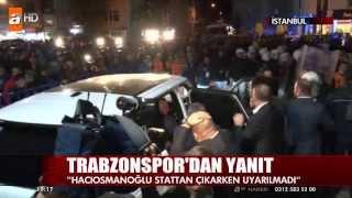 TRABZONSPOR Başkanı'na Saldırı!