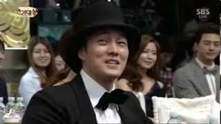 So Ji Sub Giyomi at SBS Drama Awards 2013