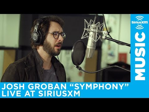 "Josh Groban performs ""Symphony"" live at SiriusXM"