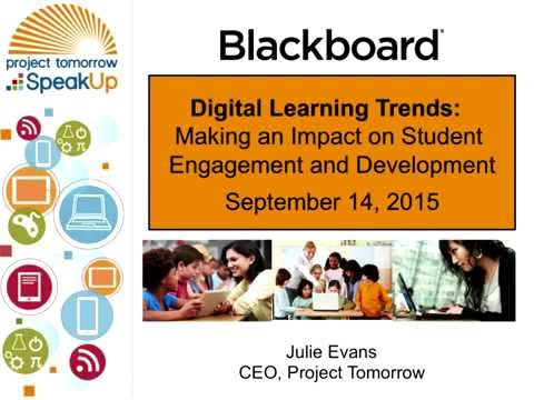 Digital Learning Trends Making an Impact on Student Engagement and Development