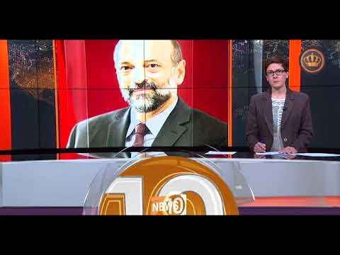 English News at Ten on Jordan Television 29-10-2018
