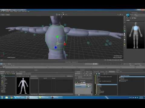 MotionBuilder 2013   Tutorial 1   Mapping Motion Capture Data to an Actor
