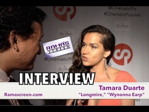 My  with 'LONGMIRE' and 'WYNONNA EARP' Star, Tamara Duarte