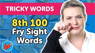 100 Tricky Words #15 | Fry Words | 8th 100 Fry Sight Words | Made by Red Cat Reading