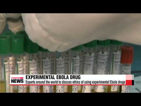 WHO to make announcement regarding untested Ebola drug