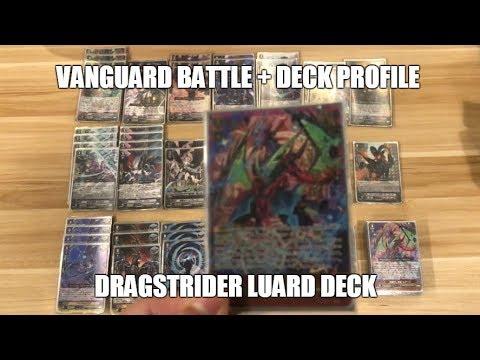 Cardfight Vanguard Battle + Deck Profile: DragStrider Luard (GBT-12)