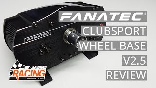 Fanatec ClubSport Wheel Base V2.5 Review