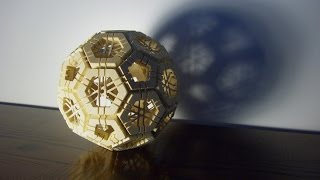 Geodesic sphere puzzle (truncated icosahedron)