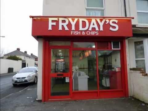 3622 - Fish & Chip Shop In Wolverhampton West Midlands For Sale