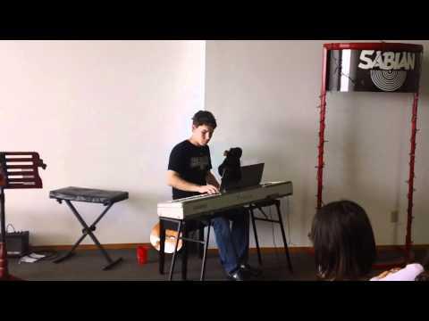 Daniel Delay plays Original Composition in Ames Iowa
