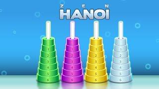 Zen Hanoi - Логические игры