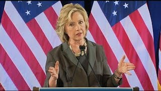 Hillary Clinton Takes Aim at 'Quarterly Capitalism' at NYU