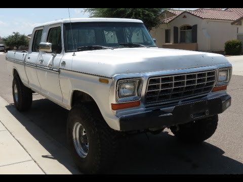 1977 ford crew cab 4x4 old ford for sale show truck doovi. Black Bedroom Furniture Sets. Home Design Ideas