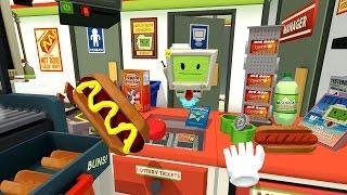 Job Simulator - Store Clerk (HTC VIVE : Job Simulator Part 2)