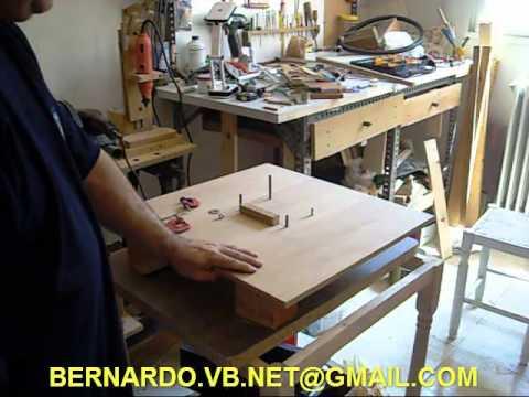 Como hacer una minisierra de mesa casera parte 2 youtube for Como hacer una mesa de cultivo casera