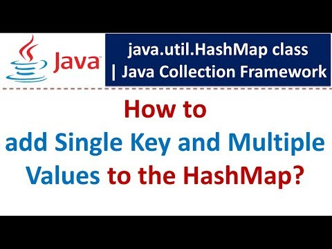 How to add Single Key and Multiple Values to the HashMap?   Java