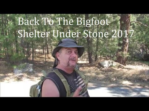 Back To The Bigfoot Shelter Under Stone 2017 Part Two: New Finds