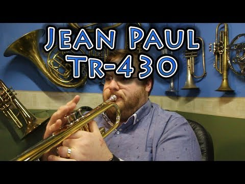 Living with the Jean Paul TR-430 Trumpet