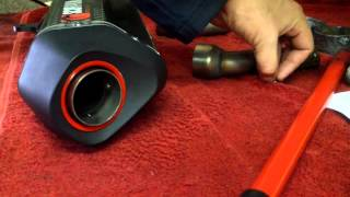 Remove Baffles From A Scorpion Serket Exhaust Can.