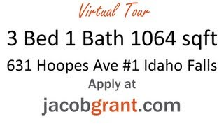 631 Hoopes Avenue #1, Apartment for Rent, Idaho Falls by Jacob Grant Property Management Thumbnail