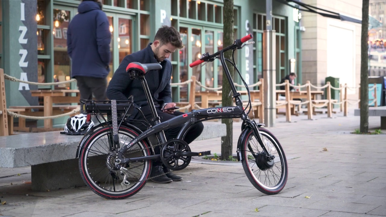 Coyote Connect folding e-bike | Halfords UK