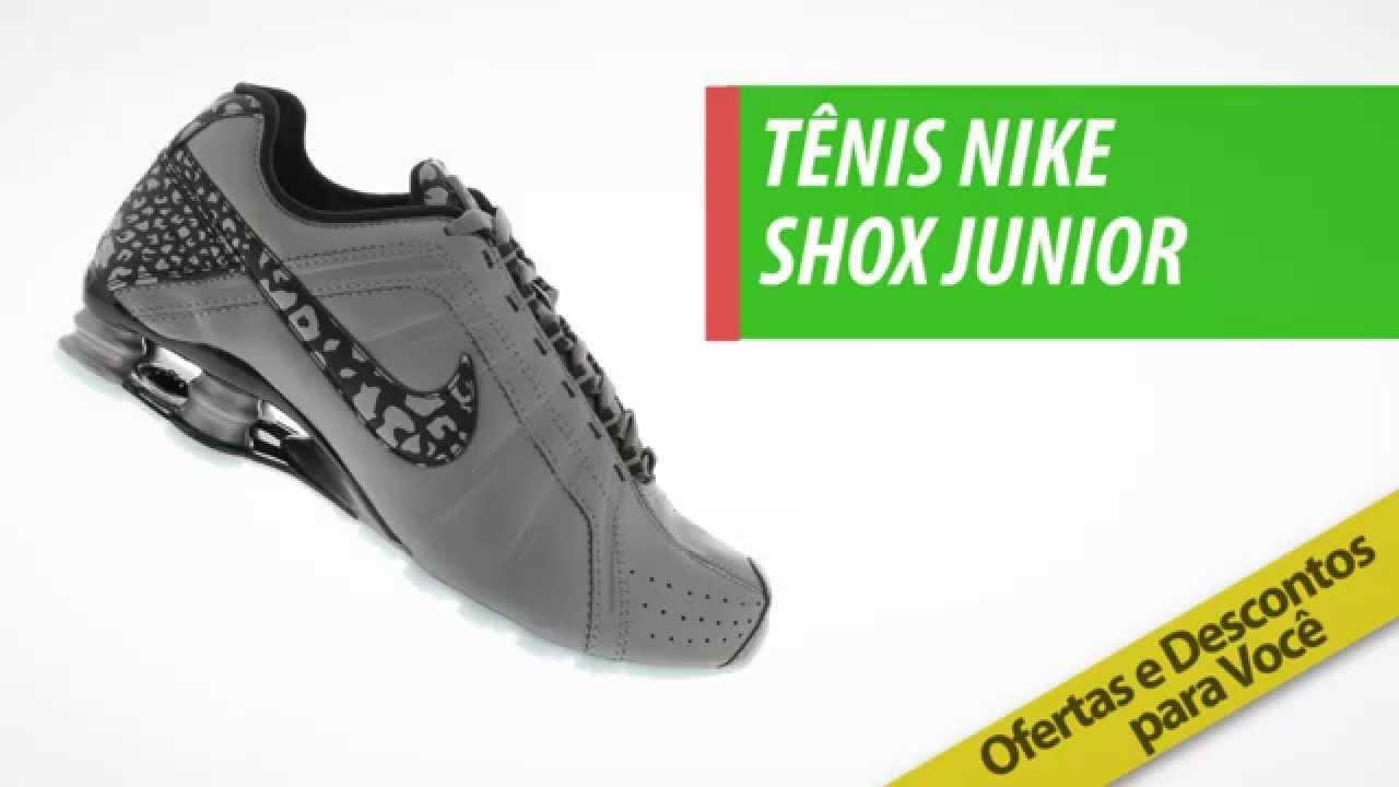sports shoes b0b4a 293d4 ... hot tênis nike shox junior compre na centauro com preço exclusivo  youtube 2d7d4 1ecbb