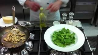 салат с трюфелями и оливками