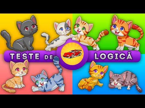 Jocuri Educative si Teste Distractive - Pisici - Logica pentru Copii și Parinți