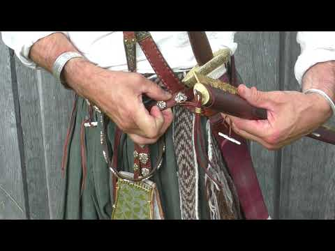 Suspension of Viking Age Knife from Birka