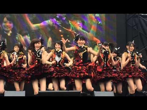 AKB48 名古屋フリーライブ ポニーテールとシュシュ