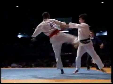 Kyokushin KO by mawashi - YouTube