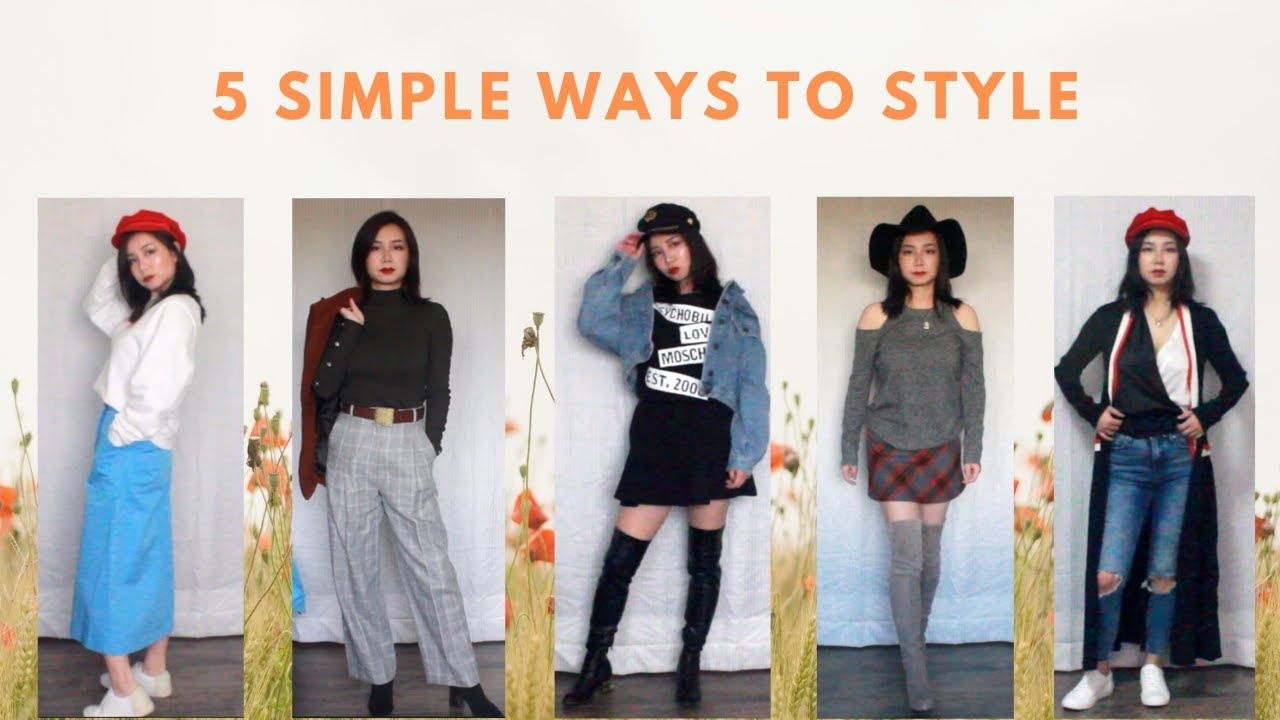 5 Pre-Spring Outfit Ideas for 2019 | 5种简单的初春搭配 2