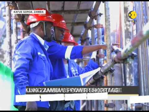 Chinese-built hydropower station expected to bring relief to Zambians