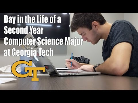 Day In The Life Of A Second Year Computer Science Major At Georgia Tech | Fall 2018